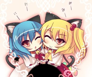Rating: Safe Score: 12 Tags: animal_ears chibi flandre_scarlet kiyomin nekomimi remilia_scarlet touhou User: Radioactive