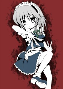 Rating: Safe Score: 8 Tags: anju izayoi_sakuya maid touhou User: konstargirl