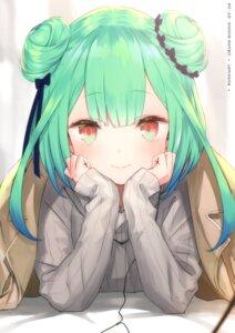 Rating: Safe Score: 53 Tags: hololive kamikire_basami sweater uruha_rushia yasuyuki User: Arsy