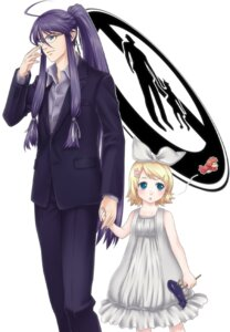 Rating: Safe Score: 8 Tags: kagamine_rin kamui_gakupo ohse vocaloid User: yumichi-sama