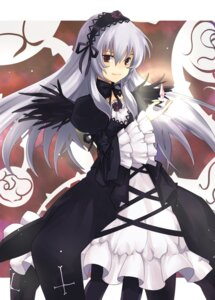 Rating: Safe Score: 18 Tags: aki dress jpeg_artifacts lolita_fashion rozen_maiden suigintou wings User: Nekotsúh