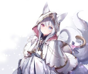 Rating: Safe Score: 35 Tags: animal_ears heterochromia tagme tail User: Mr_GT