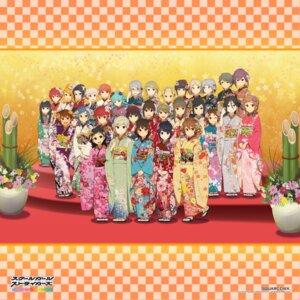 Rating: Safe Score: 16 Tags: kimono kobayashi_gen megane school_girl_strikers User: vita
