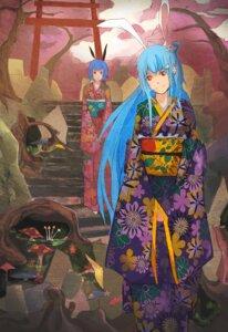 Rating: Safe Score: 6 Tags: animal_ears bili_bili_douga bili_girl_22 bili_girl_33 bunny_ears jk-xuan kimono User: eridani