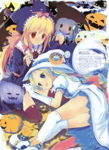 Rating: Safe Score: 34 Tags: halloween nimura_yuuji thighhighs User: crim