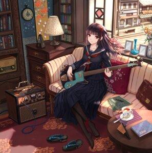Rating: Safe Score: 24 Tags: feet guitar seifuku yuzuriha User: saemonnokami