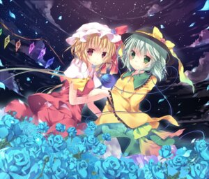 Rating: Safe Score: 25 Tags: dress flandre_scarlet kisaragi_kiriha komeiji_koishi touhou wings User: Nekotsúh