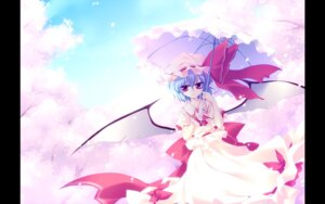 Rating: Safe Score: 22 Tags: frac motomiya_mitsuki remilia_scarlet touhou umbrella wallpaper wings User: WtfCakes