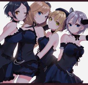 Rating: Safe Score: 50 Tags: anastasia_(idolm@ster) cleavage dress hayami_kanade miyamoto_frederica ootsuki_yui sinsihukunokonaka the_idolm@ster the_idolm@ster_cinderella_girls User: charunetra