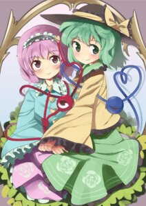 Rating: Safe Score: 6 Tags: komeiji_koishi komeiji_satori takashiru touhou User: Mr_GT