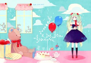Rating: Safe Score: 17 Tags: dress hatsune_miku ky692 vocaloid User: fireattack