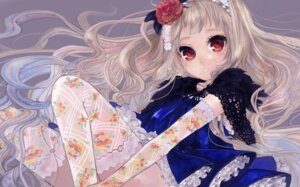 Rating: Safe Score: 36 Tags: dress pisuke thighhighs User: MyNameIs