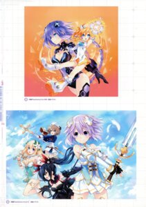 Rating: Safe Score: 13 Tags: blanc choujigen_game_neptune four_goddesses_online:_cyber_dimension_neptune neptune noire orange_heart purple_heart shinjigen_game_neptune_vii tsunako vert User: Radioactive