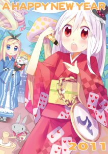 Rating: Safe Score: 7 Tags: animal_ears bunny_ears kimono kuma_jet User: fireattack
