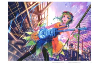 Rating: Safe Score: 27 Tags: crease fixme fuzichoko guitar gumi megane pantyhose vocaloid User: fireattack