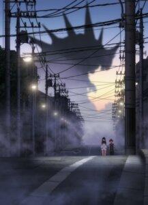 Rating: Safe Score: 13 Tags: hibiki_yuuta landscape monster seifuku silhouette ssss.gridman sweater tagme takarada_rikka User: 下一个NEXUS