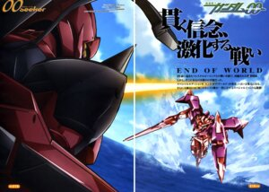 Rating: Safe Score: 3 Tags: 00_gundam arisawa_hiroshi gap gundam gundam_00 mecha overfiltered sword User: harimahario