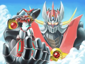 Rating: Safe Score: 4 Tags: getter_robo matchin mazinger_z mazinkaiser mecha shin_getter_robo wallpaper User: Radioactive