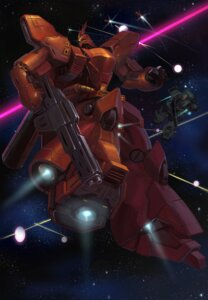 Rating: Safe Score: 8 Tags: char's_counterattack gun gundam mecha sazabi User: Radioactive