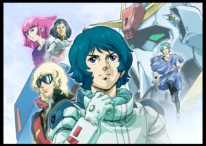 Rating: Safe Score: 4 Tags: bodysuit char_aznable digital_version four_murasame gundam haman_karn kamille_bidan mecha megane paptimus_scirocco tagme zeta_gundam User: blooregardo