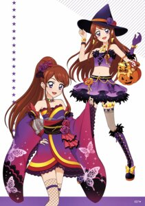 Rating: Questionable Score: 6 Tags: aikatsu! fishnets halloween japanese_clothes tagme thighhighs witch User: Radioactive
