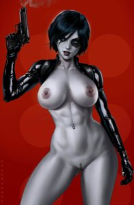 Rating: Explicit Score: 32 Tags: bottomless breasts dandon_fuga domino_(marvel) gun marvel nipples no_bra open_shirt pussy uncensored x-men User: Radioactive
