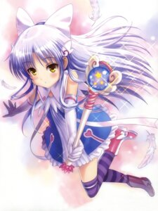 Rating: Safe Score: 74 Tags: angel_beats! cropped detexted goto-p tenshi thighhighs User: Share