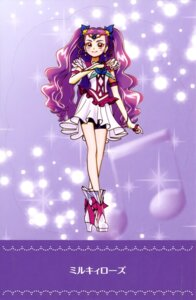 Rating: Questionable Score: 7 Tags: bike_shorts dress heels milky_rose pretty_cure yes!_precure_5 User: drop