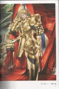 Rating: Safe Score: 9 Tags: binding_discoloration fate/stay_night fate/zero gilgamesh_(fsn) male shishizaru User: oxide