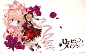Rating: Safe Score: 13 Tags: dress hina_ichigo lolita_fashion peach-pit rozen_maiden shinku wallpaper User: Radioactive