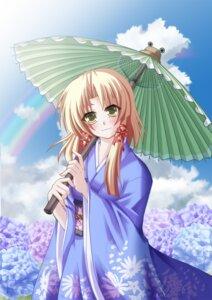 Rating: Safe Score: 4 Tags: a_flow kimono moriya_suwako touhou User: charunetra