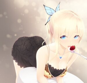 Rating: Safe Score: 66 Tags: boku_wa_tomodachi_ga_sukunai cait cleavage dress kashiwazaki_sena User: mash