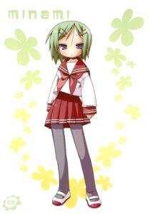 Rating: Safe Score: 5 Tags: iwasaki_minami lucky_star seifuku yoshimizu_kagami User: vita