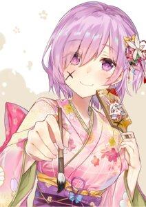 Rating: Safe Score: 57 Tags: fate/grand_order fou_(fate/grand_order) kimono mash_kyrielight nanakagura User: Mr_GT
