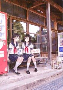 Rating: Safe Score: 39 Tags: kishida_mel maigo_tsuushin seifuku User: androgyne