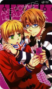 Rating: Safe Score: 3 Tags: america hetalia_axis_powers male megane tagme united_kingdom User: charunetra