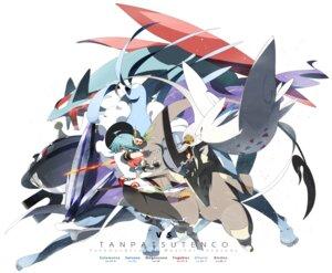 Rating: Safe Score: 24 Tags: altaria bladon crossover hinanawi_tenshi magnezone pokemon salamence siirakannu suicune togekiss touhou User: Metalic