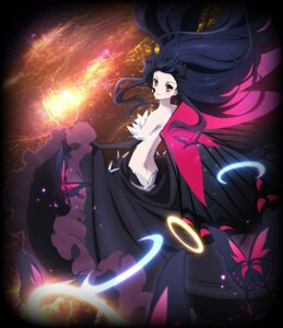Rating: Questionable Score: 45 Tags: accel_world kuroyukihime skirt_lift topless wings User: akagiss