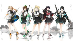 Rating: Safe Score: 15 Tags: aino_minako gun headphones hino_rei kino_makoto mizuno_ami sailor_moon seifuku sword tagme tsukino_usagi wallpaper User: saemonnokami