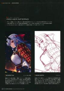Rating: Safe Score: 6 Tags: armor fate/grand_order fp_works fukai_ryosuke horns japanese_clothes sketch sword tomoe_gozen_(fate/grand_order) User: kiyoe