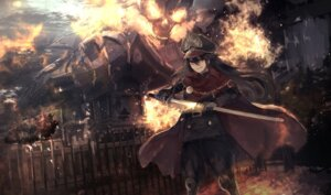 Rating: Safe Score: 34 Tags: armor demon_archer fate/grand_order kumamoto_nomii-kun sword uniform User: Nepcoheart