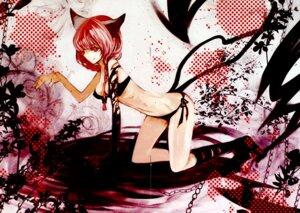 Rating: Safe Score: 20 Tags: animal_ears bikini crease duca kaenbyou_rin nekomimi swimsuits touhou User: thfp