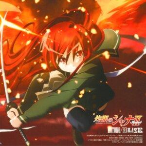 Rating: Safe Score: 9 Tags: hasegawa_shinya seifuku shakugan_no_shana shana sword thighhighs User: Sangwoo