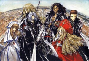 Rating: Safe Score: 7 Tags: abel_nightroad armor caterina_sforza dress hugue_de_watteau kate_scott leon_garcia_de_asturias megane nun sword thores_shibamoto tres_iqus trinity_blood User: Radioactive