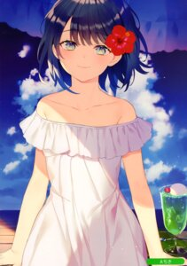 Rating: Safe Score: 33 Tags: achiki dress no_bra summer_dress tagme User: kiyoe