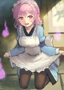 Rating: Safe Score: 26 Tags: desuka_(sasadango6) doraemon doraemon_(character) maid pantyhose saigyouji_yuyuko skirt_lift touhou wa_maid User: Mr_GT