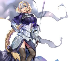 Rating: Safe Score: 36 Tags: armor fate/grand_order jeanne_d'arc marushin thighhighs User: nphuongsun93