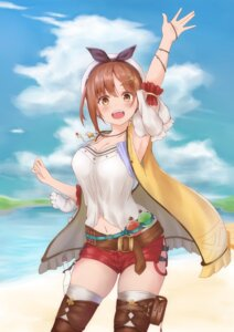 Rating: Safe Score: 28 Tags: atelier_ryza cleavage kiriya0523 reisalin_stout thighhighs User: mash