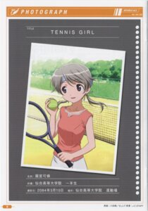 Rating: Safe Score: 1 Tags: kawada_tsuyoshi sky_girls sonomiya_karen tennis User: admin2
