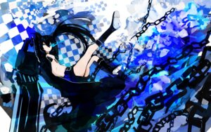 Rating: Safe Score: 17 Tags: bikini_top black_rock_shooter black_rock_shooter_(character) gun tone_g vocaloid wallpaper User: cattypkung